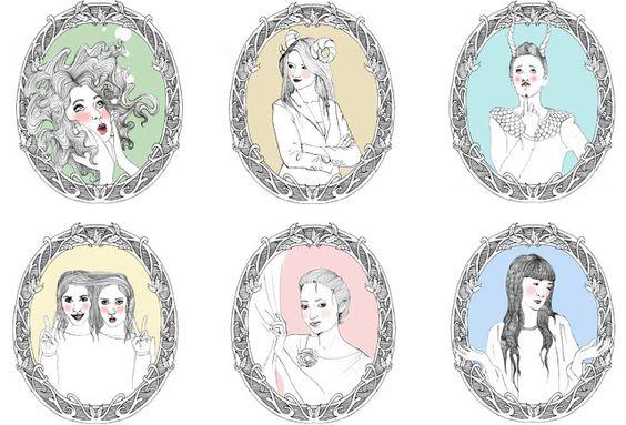 #horoscope #zodiac #astrologie #sagittaire #bélier #taureau #vierge #scorpion #capricorne #gémeaux #balance #lion #poisson #cancer #verseau #drawing  #illustration #pen #bobybarge