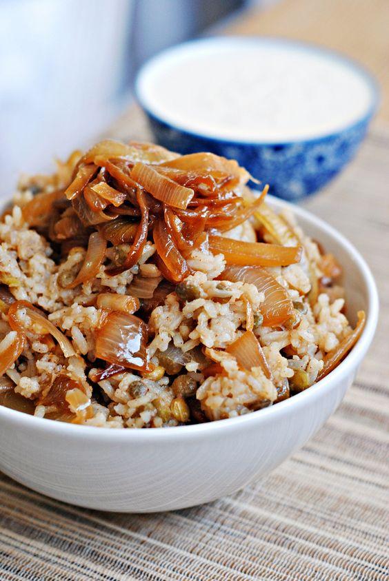 Mujadara - Caramelized Onion Pilaf | Recipe and description … | Flickr