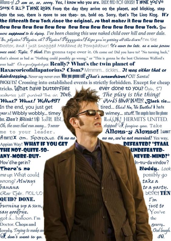 #DoctorWho Quotes from the Tenth Doctor: The Tenth Doctor, Timey Wimey, 10Th Doctor, Doctor Who, Dr. Who, Tenth Doctor Quotes, 10 Quotes, David Tennant