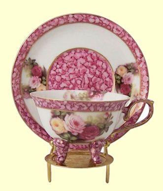 Hand Painted Porcelain Teacup