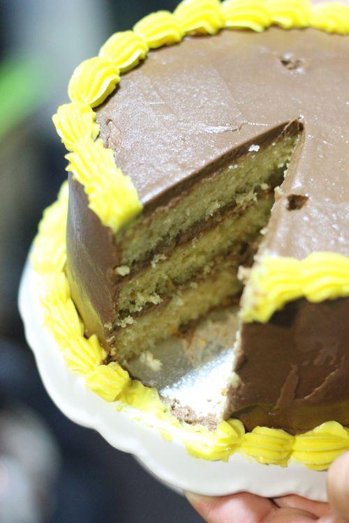 Layer cake de naranja y chocolate al cointreau. Objetivo: Cupcake Perfecto.