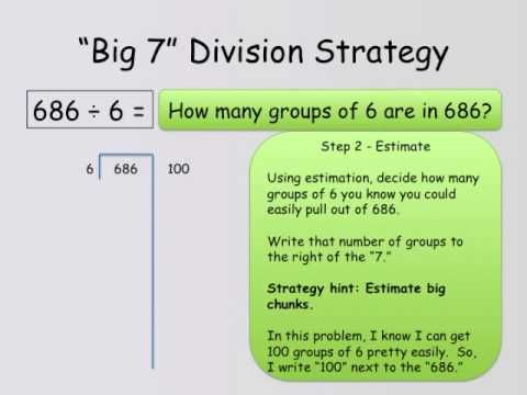 Big 7 Division Strategy