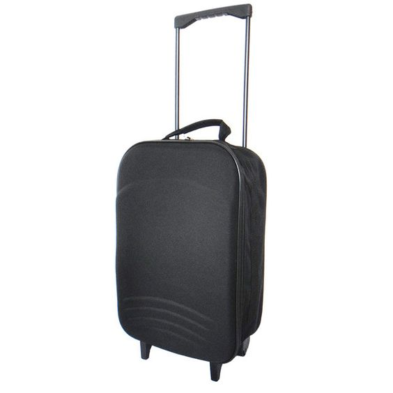 Trailworthy 20-Inch Carry On Rolling Upright Boarding Case