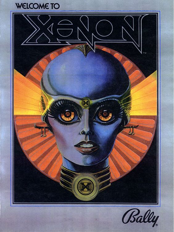 XENON Pinball from the '80s (MEMORABILIA)
