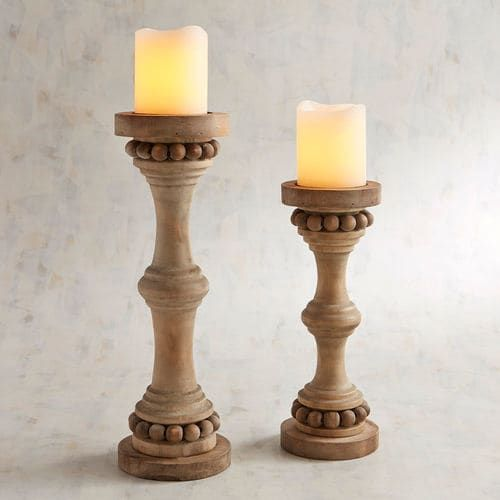 Wooden Beads Pillar Candle Holders Pier 1 Imports Candle Holders Pillar Candle Holders Pillar Candles