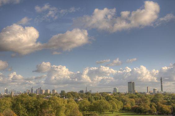 London landmarks from Primrose Hill | Flickr - Photo Sharing!