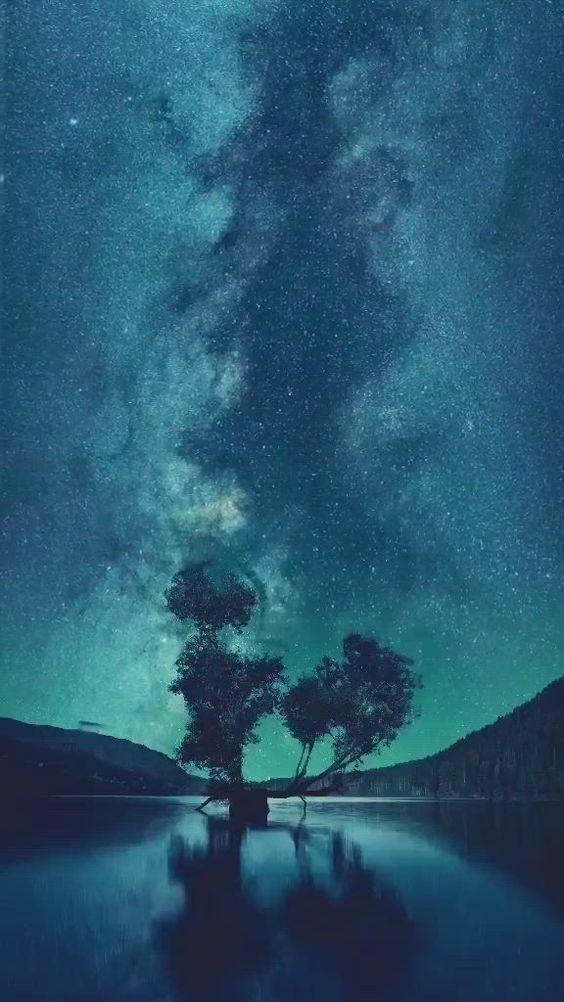 Beautiful Night Sky Night Scenery Night Sky Wallpaper Beautiful night scenery wallpaper hd