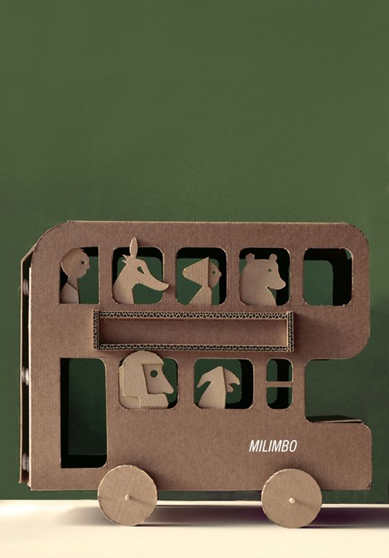 Cardboard Creations by Milimbo