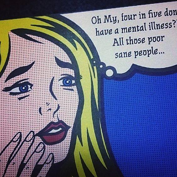 Poor sane people