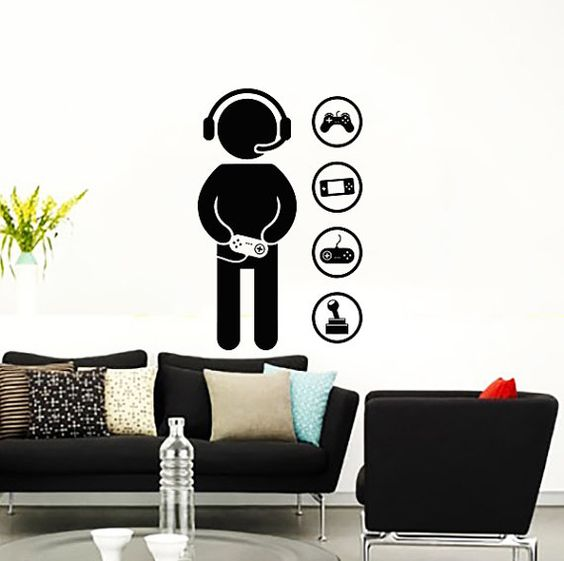 Game Controller, Wall Decals And Decals On Pinterest