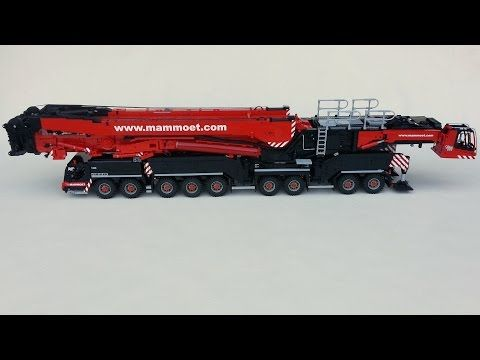 Liebherr LTM 11200 Lego project overview 2013 - YouTube