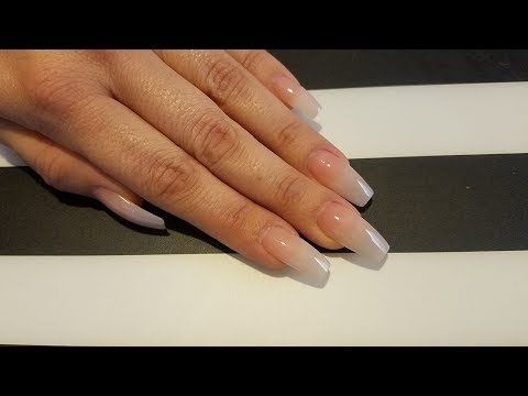 How To Do Fiberglass Or Silk Nails By Lizy G Youtube Fiberglass Nails Silk Wrap Nails