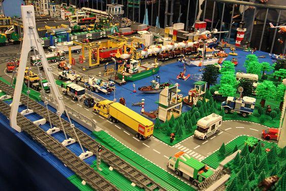 havengebied van lego maken