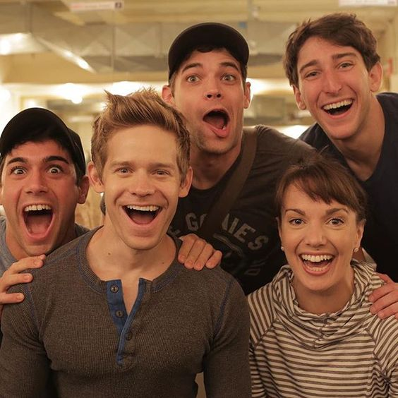 """So whatever happens, WE'RE BACK!"" #newsies:"