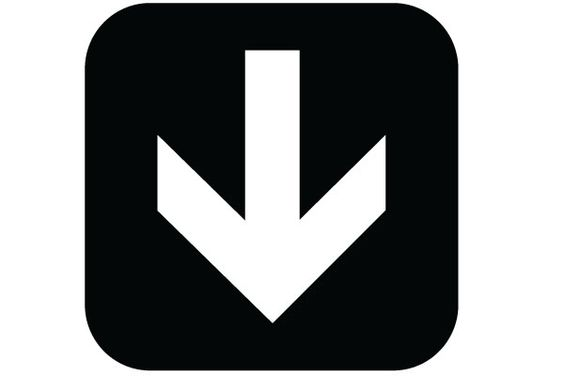 Image result for down arrow symbol