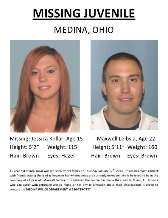 Missing 15 Year Old Girl Found: 1/25/2013: MISSING TEEN MAY BE WITH OLDER MAN: Please