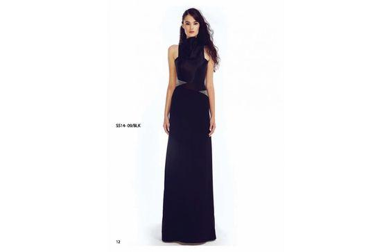 Meet My Designer - Young Designer Spotter - High Neck Swarovski Detailed Long Dress