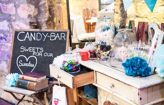 [blickfang] Event Design - der Showroom - Candybar