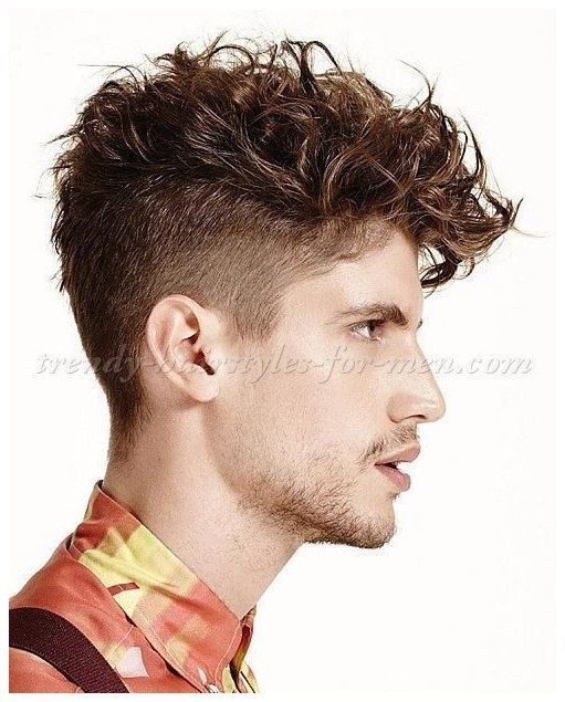 Curly And Wavy Hairstyles For Men Undercut Hairstyle For Wavy Hair More Trendinghaircutsformen Click The I Curly Hair Men Medium Hair Styles Mens Hairstyles