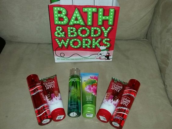 More bath n bodyworks for me and the boy's girlfriends