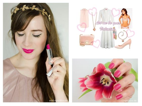 Valentinstag Beauty & Mode-Inspiration