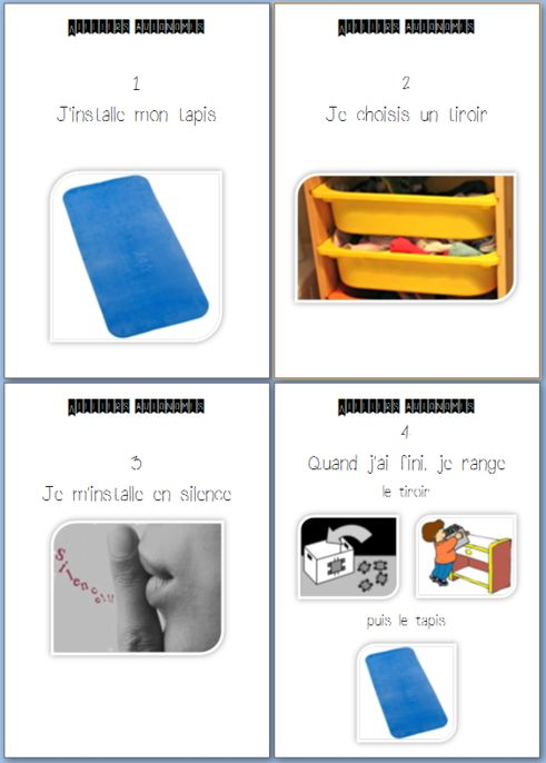 ateliers Montessori et vidéo de Céline Alvarez