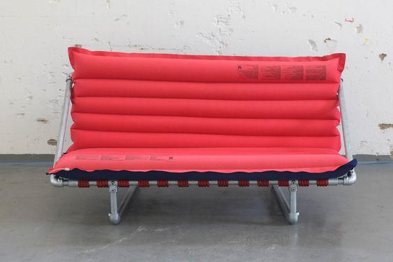 Sofa aus Rohr selber bauen