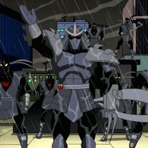 Shredder S First Appearance From The 2003 Tmnt Series Shredder