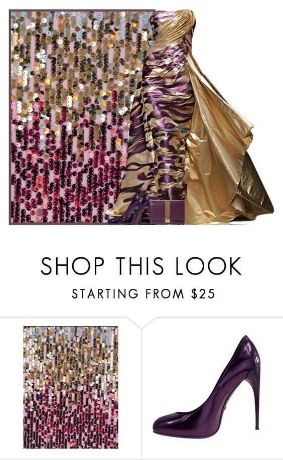 """""""Glitter Fabric"""" by chathurika-gamage ❤ liked on Polyvore featuring Marc Jacobs"""