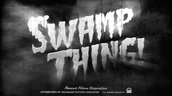 Photoshop How To Make A Vintage B Horror Movie Title Design Via Tko Blue Lightning Tv Title Design Movie Titles Graphic Design Photoshop