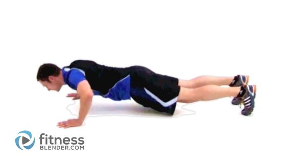 Burpee (Lv 3) Propósito Ejercicio Fortalecimiento y tonificación de las piernas, el núcleo y el pecho. Con más repeticiones en intervalos cortos, es ideal para desafiar su resistencia cardiovascular, específicamente a su umbral anaeróbico.Su uso de múltiples grupos de músculos, le da más quema de calorías en menos tiempo. Esta es la versión más difícil de este ejercicio, puede añadir un chaleco con peso o mancuernas.(deportistas avanzados)