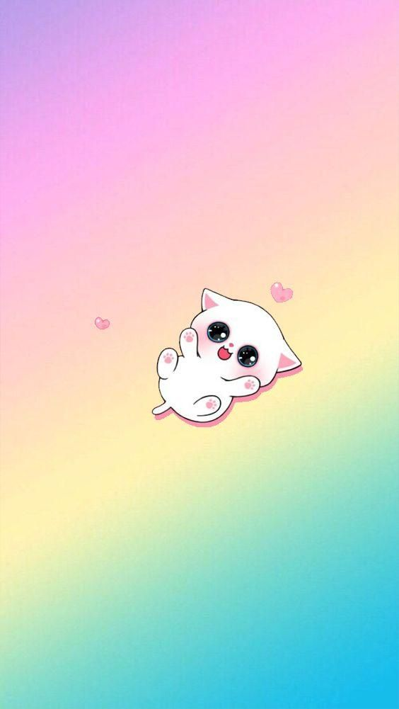 Hd Kawaii Wallpapers Cute Backgrounds Images A New Wallpapers App With Beautiful Pictures Of Cute Kawaii Pictures Kawaii Kartun Hewan Lucu