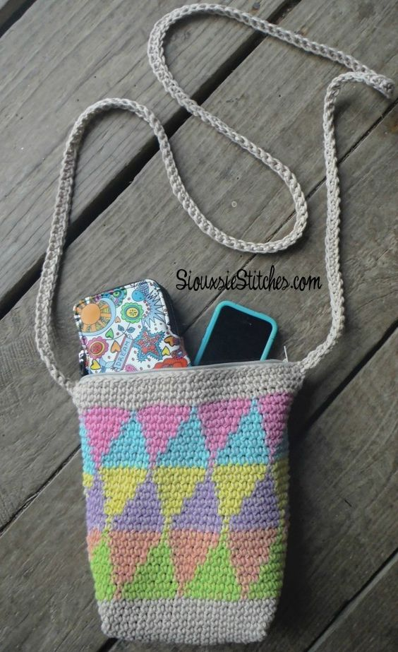 Free Crochet Chevron Purse Pattern : Bags, Stitches and Chevron on Pinterest