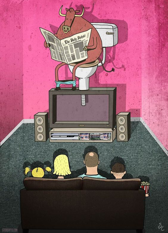Triste monde moderne – Les illustrations trash et satiriques de Steve Cutts: