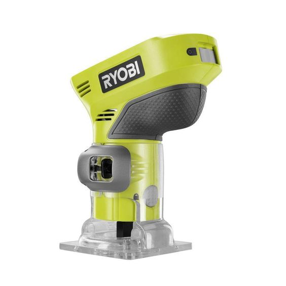 Ryobi 18 Volt Lithium Li-Ion Cordless ONE+ Palm Router Fixed Base - Tool Only…