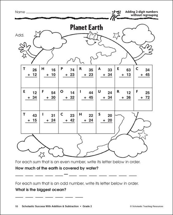 digit addition and subtraction without regrouping worksheets – Subtraction Without Regrouping Worksheet