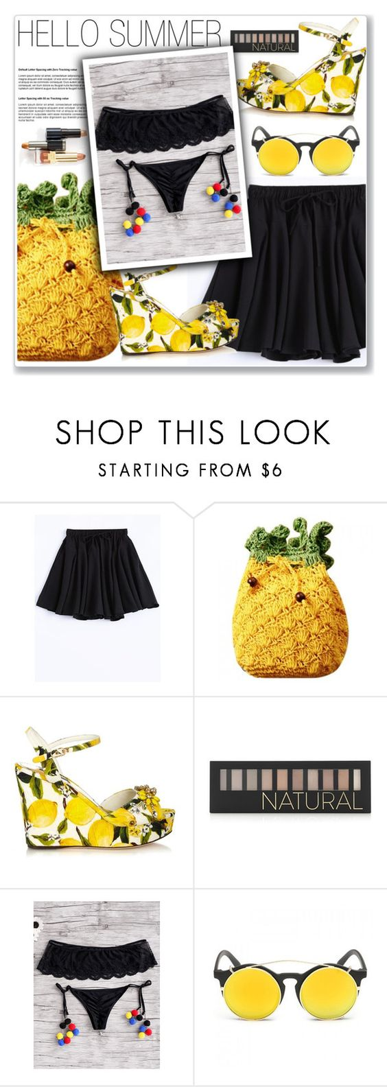 """""""#20"""" by lejla-7 ❤ liked on Polyvore featuring Dolce&Gabbana and Forever 21"""