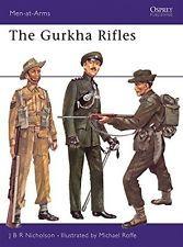 USED (VG) The Gurkha Rifles (Men-at-Arms) by J.B.R. Nicholson