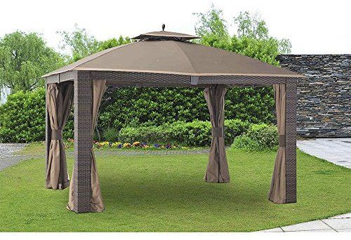 Amazon Com Sunjoy Replacement Canopy Set For 10 X 12 Ft Sonoma Gazebo Garden Outdoor Gazebo Replacement Canopy Blue Outdoor Furniture