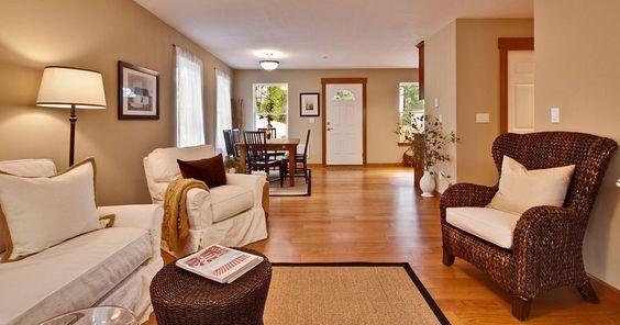 Bellevue Bungalow_4 | Blond Interiors | Pinterest | Bungalow, Low  Maintenance Landscaping And Bellevue Washington