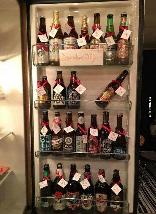 Bier Adventskalender Selbst Gemacht Kreative Diy