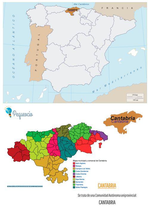 Mapa De Comunidades Autonomas Para Imprimir Mapas Viajes Y