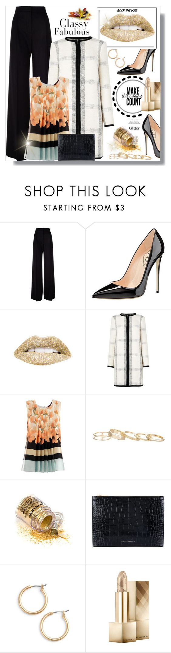 """Make it count"" by carleen1978 ❤ liked on Polyvore featuring MaxMara, L.K.Bennett, Kendra Scott, Victoria Beckham, Nordstrom and Burberry"