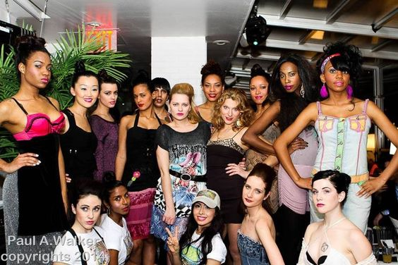 Great fashion show with Hillary Flowers at the sky room