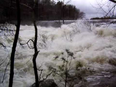 Blackstone River and Gorge ~ March 31,2010 ~ Flood ~ #FloodMassachusetts #BlackstoneRiverFlood #BlackstoneRiverGorge