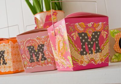 Mod Podge Birthday Treat Boxes