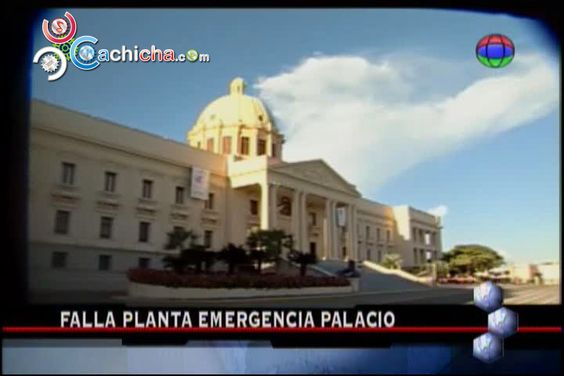 Explosión De Planta En El Palacio Nacional Alarma A La Seguridad #Video