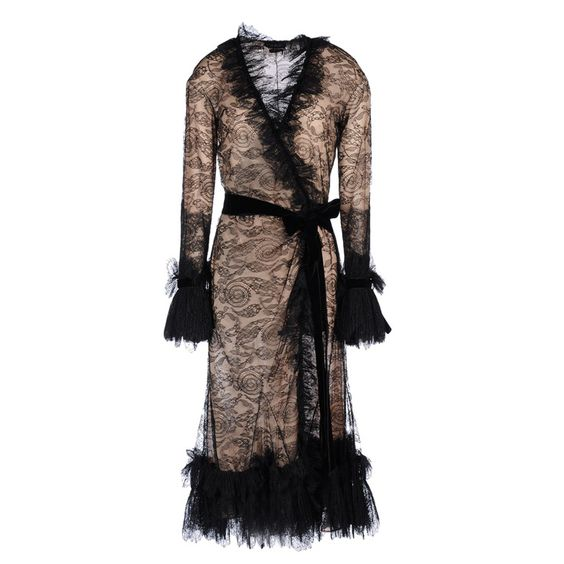 New Tom Ford Black Lace Dress | From a collection of rare vintage evening dresses at http://www.1stdibs.com/fashion/clothing/evening-dresses/