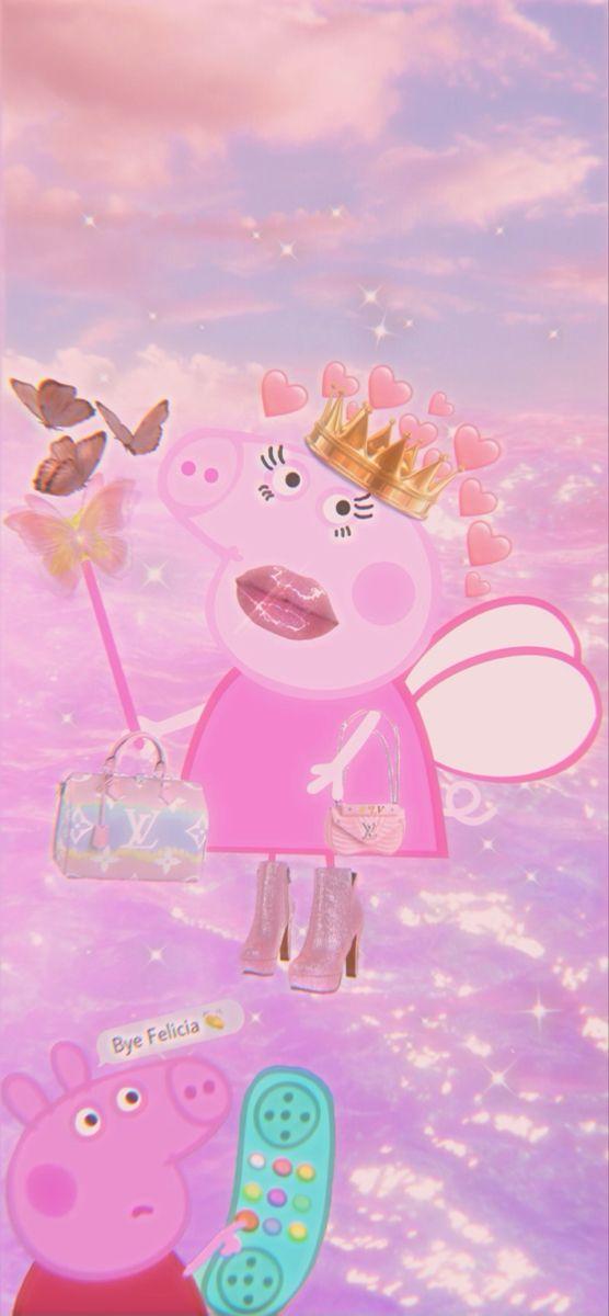 Pappa Pig Iphone Wallpaper Aesthetic In 2021 Peppa Pig Wallpaper Pig Wallpaper Peppa Pig Pictures