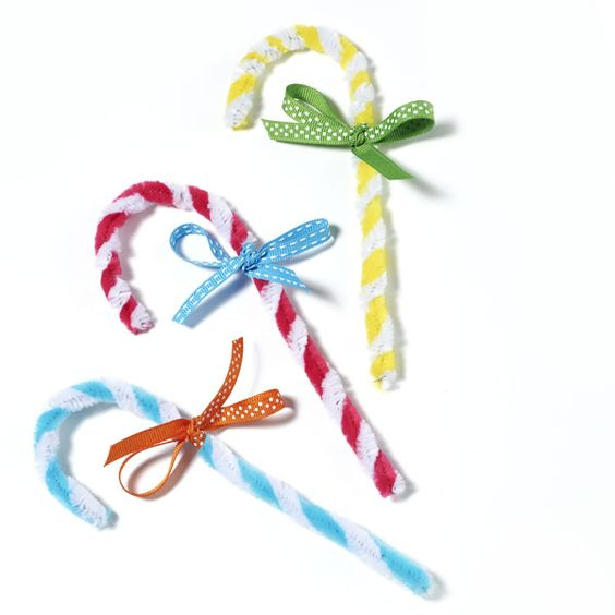 Twist Candy Canes | Craft Ideas & Inspirational Projects | Hobbycraft